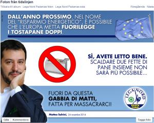 Salvini tostapane
