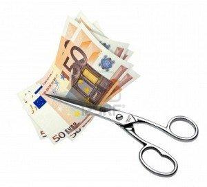 euro-bills-cut