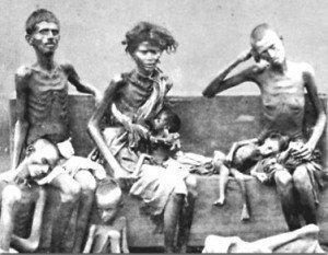 Vittime della grande fame in un reportage dell'epoca