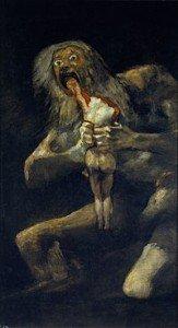 Goya, Saturno divora i propri figli