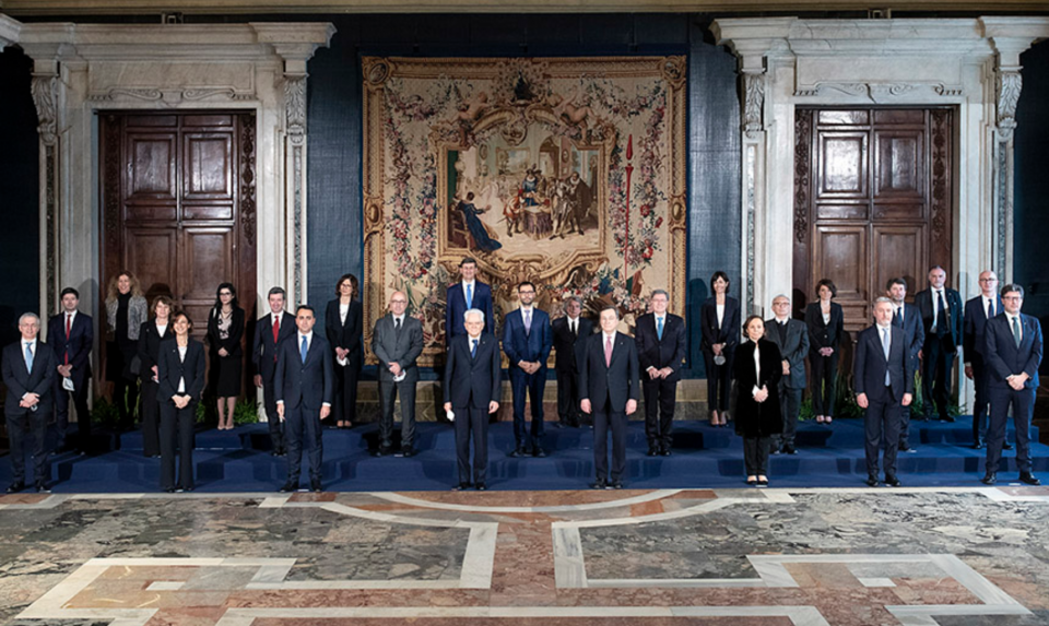 Draghi Ministri